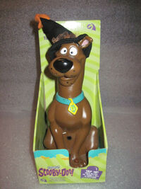 Rare MIB Halloween Talking Scooby Doo Dressed as Witch Gemmy Motion Activated