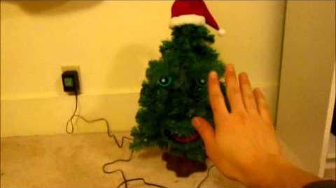 Gemmy - Douglas Fir the Talking Christmas Tree (Edition 1)