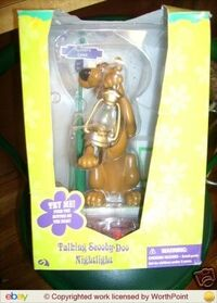 Talking Scooby-Doo Nightlight New in Box