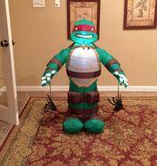 Gemmy Prototype Halloween Ninja Turtle Inflatable Airblown