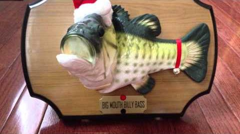Christmas Edition Billy Bass (version 1)