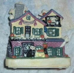 Classic GEMMY Halloween Factory Haunted House Decoration 1995 lights and sounds 2