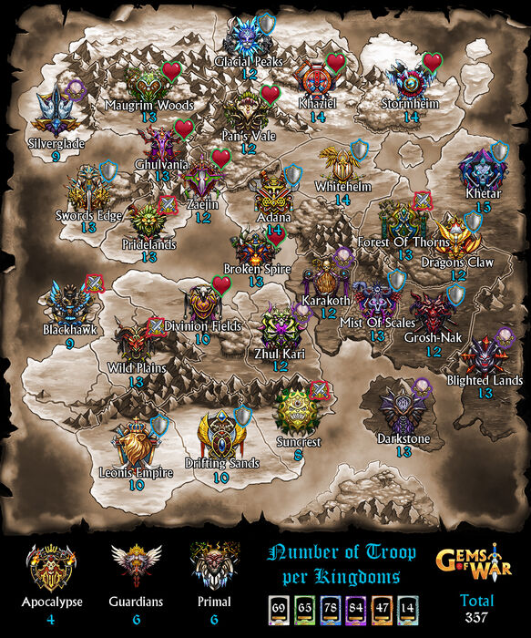 World Map Detailed 3.0