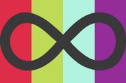 Neurogender Pride flag