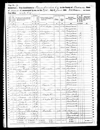 1860 US Census, Minnesota State, Wabasha County, Lake Township, Pg 7