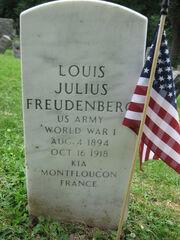 Freudenberg-LouisJulius tombstone