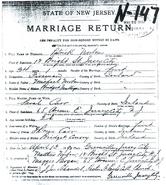 Carr Norton 1890 marriage certificate