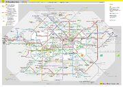 Berlin Transportation Rout Map