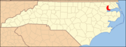 North Carolina Map Highlighting Chowan County.PNG