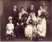 Woods Jensen 1918 wedding