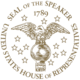 Seal of the Speaker of the US House of Representatives