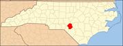 North Carolina Map Highlighting Hoke County.PNG