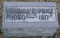 Virginia Elizabeth Kail (1847-1917) grave