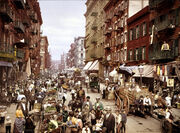 Mulberry Street NYC c1900 LOC 3g04637u edit
