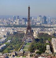 Paris - Eiffelturm und Marsfeld2