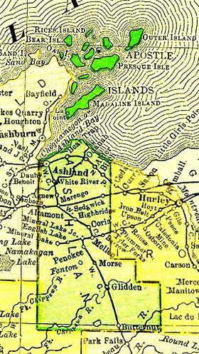 Ashland county, wisconsin, 1895