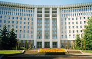 Parlament Buiding Moldova