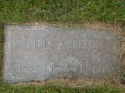 Eden T. Brekke (1893-1978) tombstone