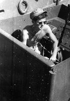 Lt. John F. Kennedy aboard the PT-109