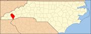 North Carolina Map Highlighting Jackson County.PNG