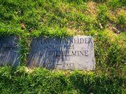 Gustav Schneider at Fairview Cemetery 100 0917