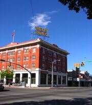 Logan, Utah corner of Main & Center St