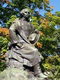 Nathaniel Hawthorne statue - Salem, Massachusetts