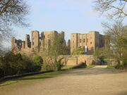 Kenilworth Castle gatehouse landscape