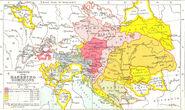 Growth of Habsburg territories