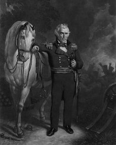 General Zach and his horse