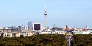 Berlin skyline 2009w