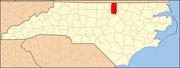 North Carolina Map Highlighting Granville County.PNG