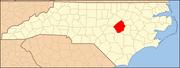 North Carolina Map Highlighting Johnston County.PNG