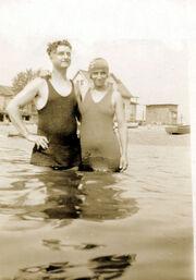 Kahrar-Charles swim