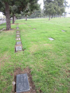 Eva Ariel Lattin Winblad cemetery plot north