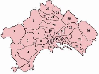 Quarters of Naples