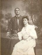 Annie Nagle & William Adams Wedding Photo 1906