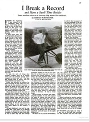 Eddie August Schneider October 1931 Flying magazine page 1 of 5