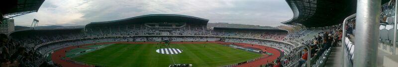 Cluj Arena - panoramic view - 11 october 2011
