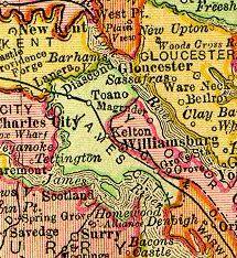 James City County Virginia 1895