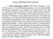 Ruuth-JohnanChristopher Kapellpredikanter of Linsell from 1795 to 1804