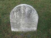 Nevius tombstone