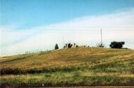 Wounded Knee hill