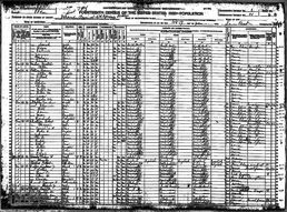 Woods JohnD+2nd wifeEmily--VeronaLeeCoMS--1920census