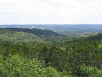 Texas Hill Country Near I-10, 2004