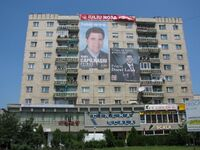May 2008 electoral campaign in Zalau