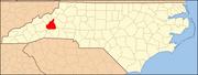 North Carolina Map Highlighting McDowell County.PNG
