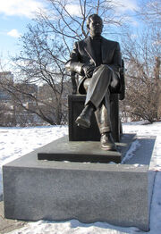 Lester Pearson statue Ottawa
