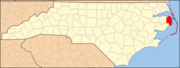 North Carolina Map Highlighting Dare County.PNG