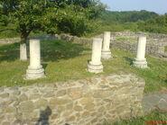 Temple to Jupiter Optimus Maximus Dolichenus in Porolissum, Romania